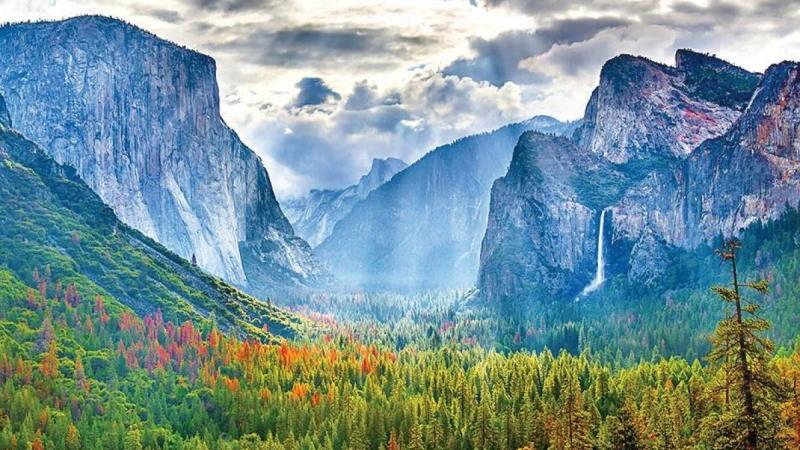 Take A Stroll Through Yosemite National Park